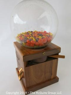 Furniture: Office desktop candy dispenser.