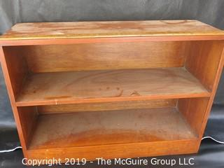 Furniture: two two-shelf book cases. Composition. See photos for dimensions