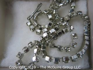 Jewelry: lot 217 7 boxes with asst pins, necklace, etc.