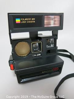 Camera: vintage Polaroid 600 autofocus 660 instant camera (yes they are back) new film available