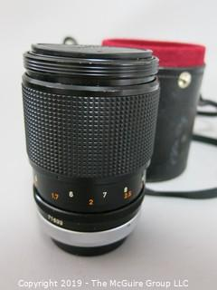 Camera: Lens: Canon FD 135mm 1:2.5 SC w/case