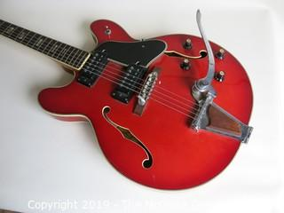 Musical: Intrument: Collectable: Lyle Electric Guitar 1961-62; steel neck, untested