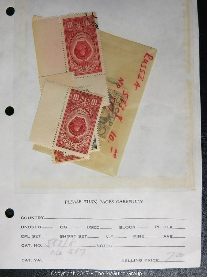 On-Line Philately Auction