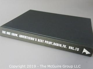"Book: Graphic Design: ""The One Show: Advertising's Best Print, Radio and TV: Vol. 15: 1993"