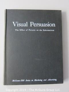 "Book: Graphic Design: ""Visual Presentation -The Effect of Pictures on The Subconscious"";  1961"