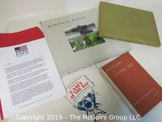 "Books: ""Museum of Living Art"" published by NYU; 1937; ""Savitri's Way to Perfect Fitness Through Hatha Yoga""; 1979; and ""Winfield House"", published by the U.S. Department of State"