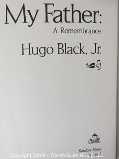 "Book Title:""My Father, A Remembrance by Hugo Black Jr."" (includes the uncorrected first proof)"