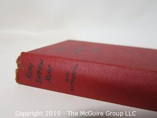"Book Title:""Run Sheep Run"" by June Wetherell; 1947: Yudain inscribed"