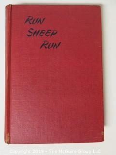"Book Title:""Run Sheep Run"" by June Wetherell; 1947: Yudain inscribed"
