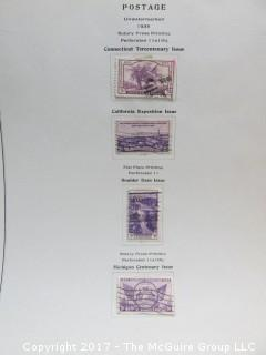 Collection of Stamps (Note: As of 5:30pm ET Sat., July 15, the duck stamps have been deleted from this lot due to TMG error).