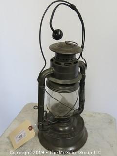 Collectibles: Kerosene lamp: Electrified:  Dietz Portable Kerosene Lamp