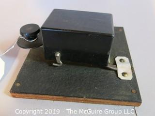 Collectibles: Historic: Industrial: Telegraph Signal Key for Morse Code