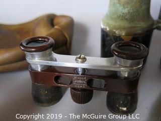 Collectibles: Antiques: Optics: Collection including assorted binoculars of assorted eras (German) (TMG #375)