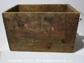 Advertising: Wood Crate: VTG: (refer to photos for condition): Shotgun Shells
