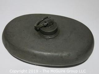 Household: VTG:  Hot Water Metal Container: Bed or Carriage