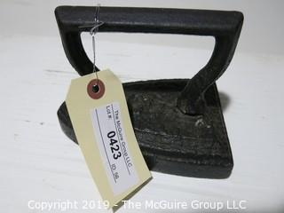 Cast Iron: Laundry Flat Iron