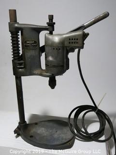 Tools: VTG electric drill and press (WORKING)