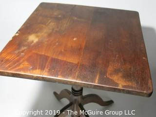 Furniture: Wood: VTG: Tea Table: review all photos for condition
