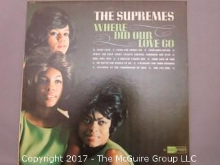 Vinyl Record Albums - Rolling Stones, Supremes, Mama's and the Papa's