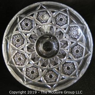 Covered Crystal Candy Bowl