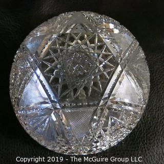 Three (3) Cut-Glass Bowls
