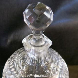 Two (2) Lead Cut-Crystal Decanters