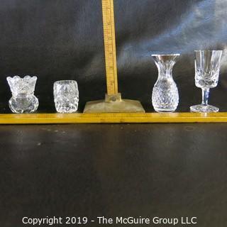 Four Crystal Items