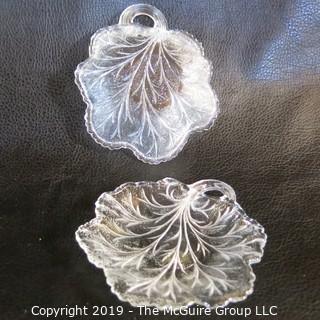 Five (5) EAPG Glass Bowls