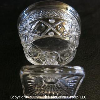 """EAPG """"Cape Cod"""" by Imperial, OH heavy glassware"""