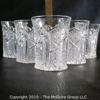Five  EAPG Glasses