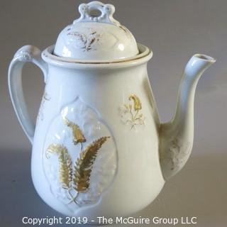 Ironstone Coffee Pot Furnival - England