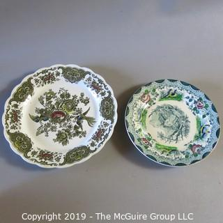 French and England Plates