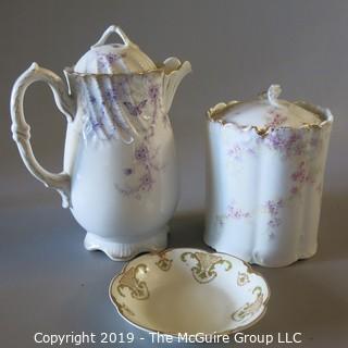Mixed Fine Ceramics; Haviland & Bavarian