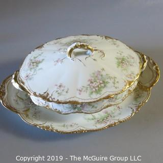 Haviland Limoges Turrine and Tray