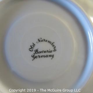 Assortment of mostly Bavarian Ceramics