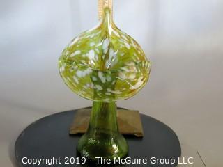 Jack-in-the-pulpit hand formed bud vase