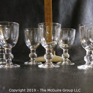 7 Small Sherry Glasses
