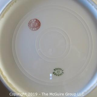 Three Limoges Art Plates