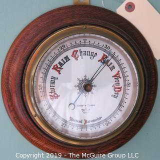 Wall Circular Barometer