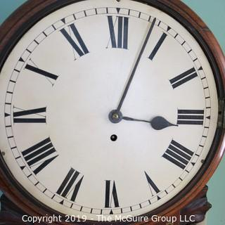 Large Unmarked Circular Wall Clock