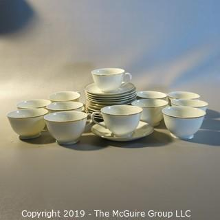 Ceramics - 12 Cups and Saucers 'Made in Japan""