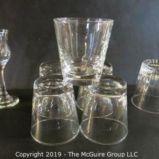 Mixed Glassware x12  incl x5 Libby