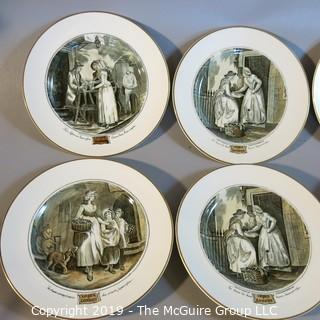 Art Plates x10; London Scenes