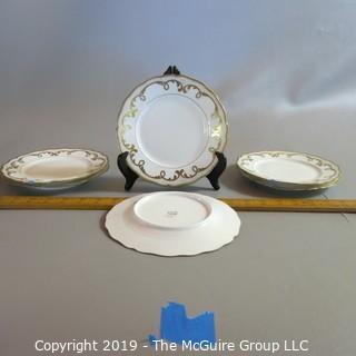 Limoge Dessert Plates by D&G - Bernardead & Co