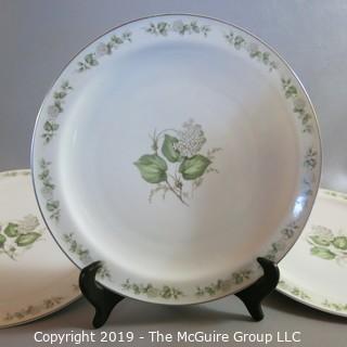 China Dinner Plates x3 Krauthein - Summer Bloom - Franconia