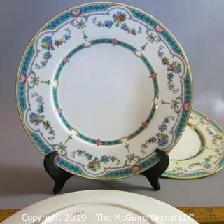 Ripon London Dinner Plate x3 pattern ID'd
