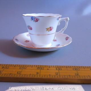 Fine China - Cup and Saucer - Colclough England - Rose theme