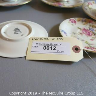 Fine China - Plates Cups and Saucers - Castelton USA - Sunnybrooke