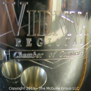 Pewter Cups x11 - Engraved - Commemorative - Striff - Sheffield