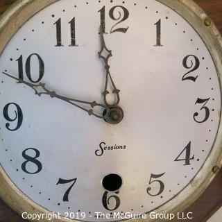 Large marked Octagonal Wall Clock